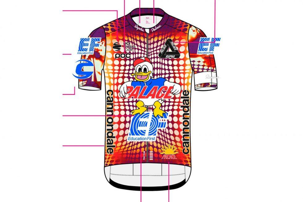 2020 Giro d'Italia EF's Rapha x Palace Kit